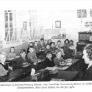 Photo:1949 Council school, Mrs Gwen Baker